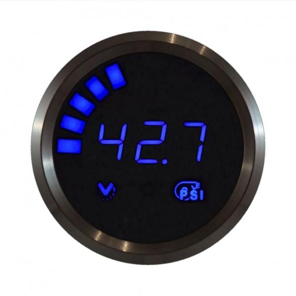 V1 Series Hi Res Vacuum Boost Gauge With Internal Sensor